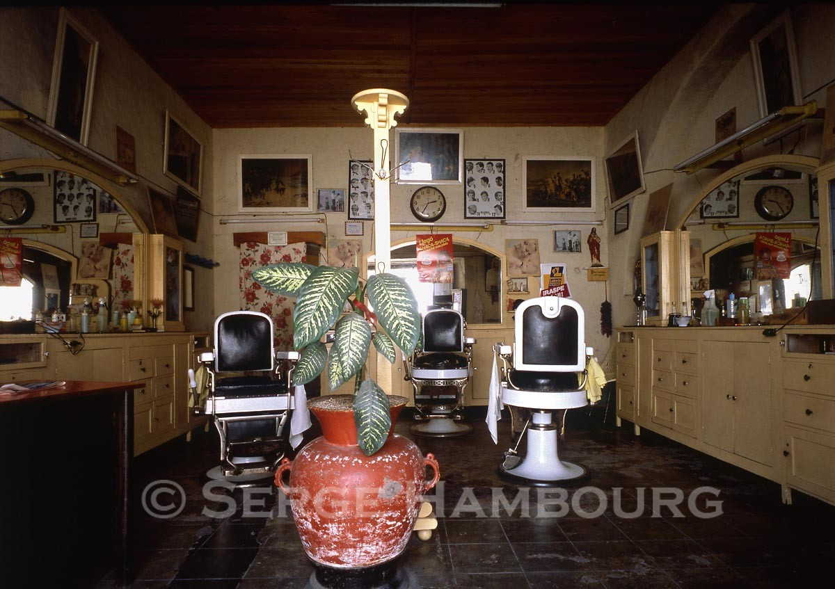 Salon de coiffure Antigua, Guatemala