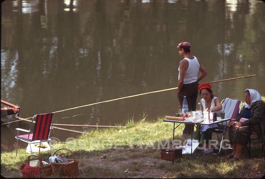 Famille de pêcheur