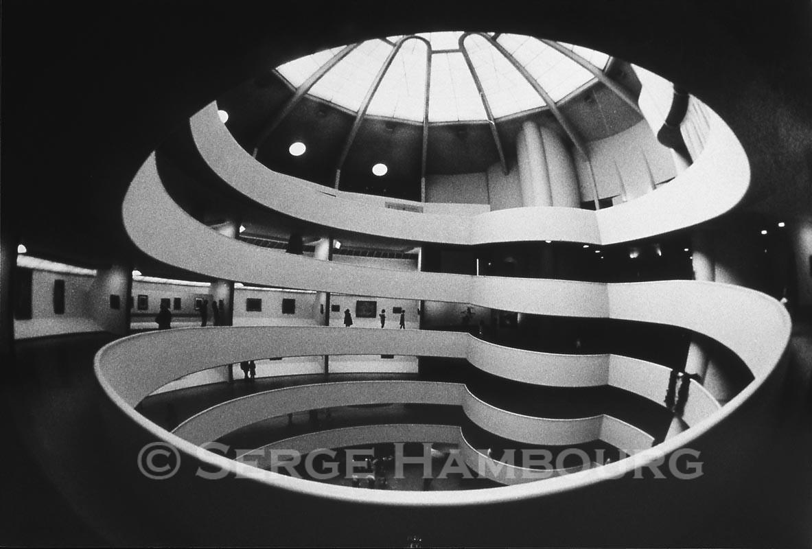 Musée Guggenheim NYC 1968