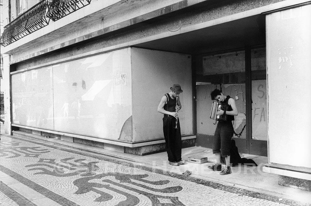 Musiciens à Lisbonne