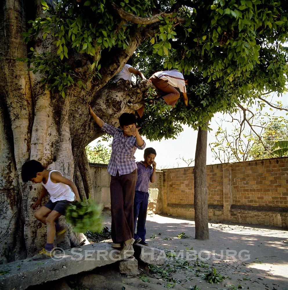 Oaxaca : enfants