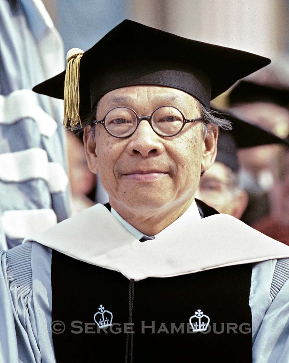 I.M. Pei, architecte - Dr. Honoris Causa, Columbia University May 14, 1980