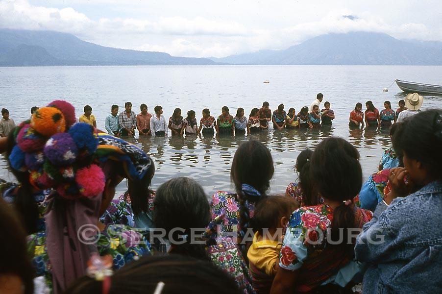 Baptême groupe Atitlan