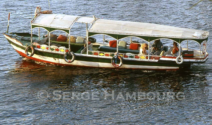 Louksor Le Nil