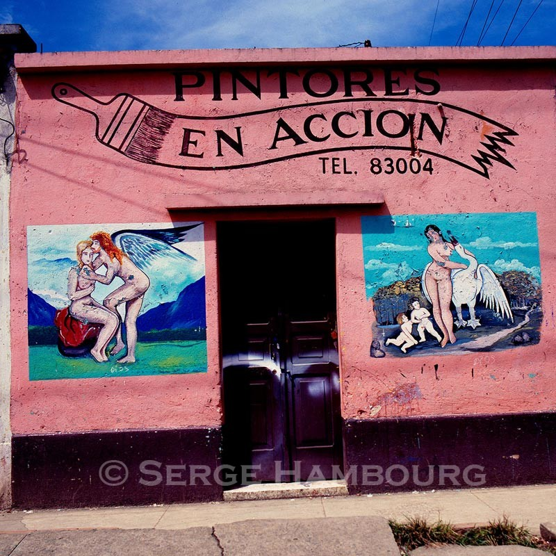 Peintre en bâtiment, Guatemala