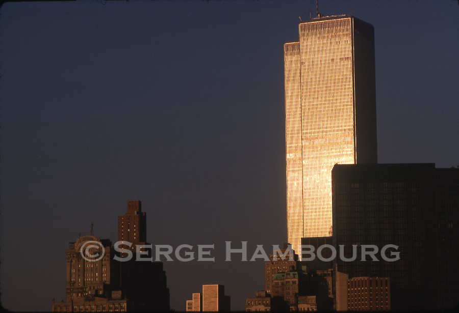 World Trade Center doré