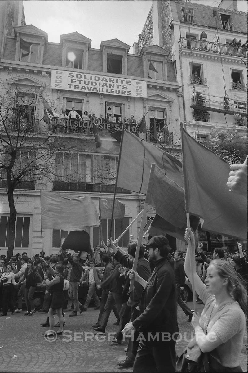 Manifestation 13 mai 1968
