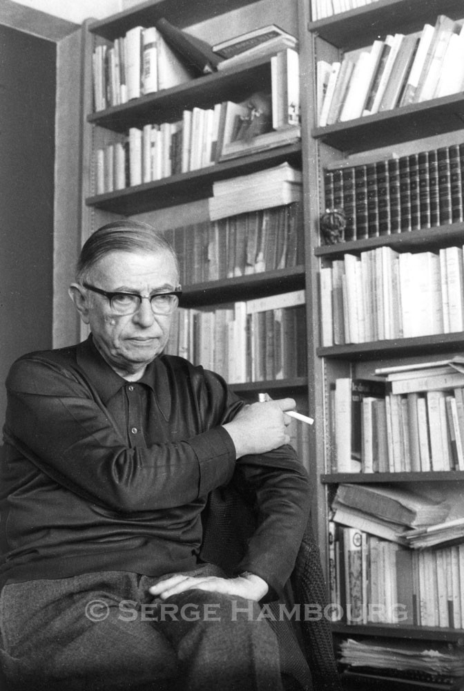 Jean-Paul SARTRE  – 1964