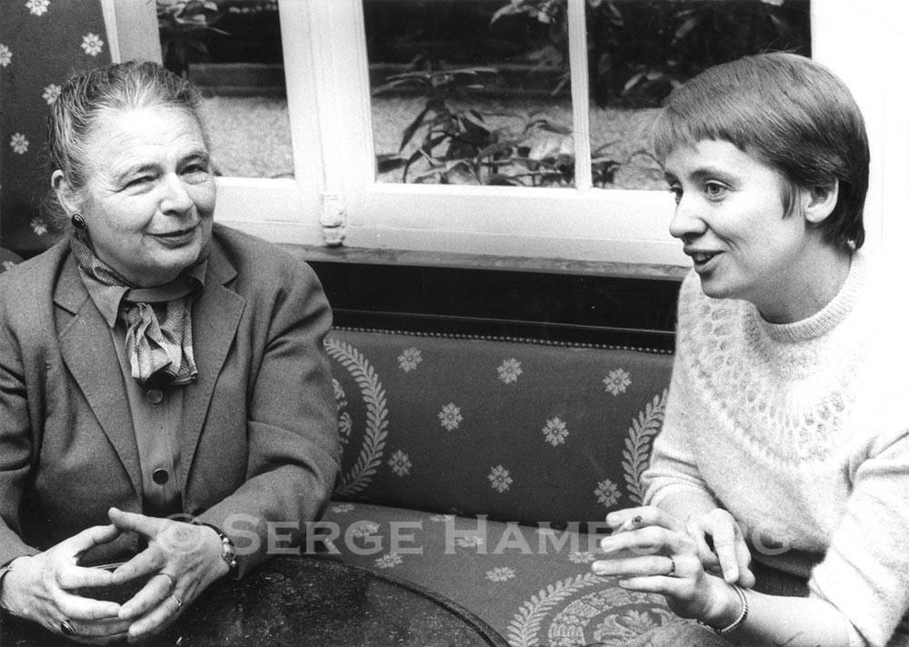 Marguerite YOURCENAR et Françoise MALLET-JORIS