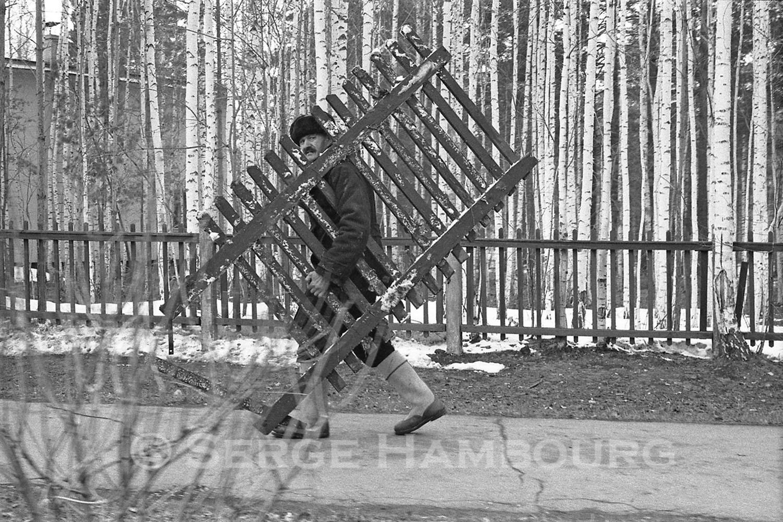 Porteurs en Sibérie